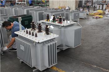 松江SH15-M 80kva非晶合金油浸式变压器