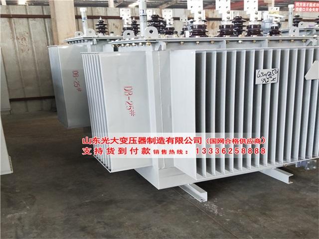 夹江S13-40000KVA油浸式变压器